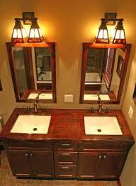 Mission Style Bathroom Lighting Mission Style Bathroom Lighting Home Interior