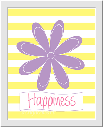 pink girls room wall art baby nursery decor peace love happiness pink girls room wall art baby nursery decor peace love happiness flowers heart peace sign pink yellow lavender purple home decor floral wall art girls