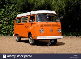 volkswagen westfalia camper 1974 vw type 2 bay window camper van micro bus westfalia stock