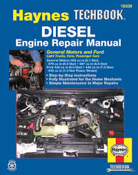 diesel engine repair haynes techbook haynes manuals