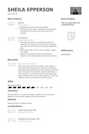 what to put on a babysitting resume nanny resume objective current resume examples combination resume