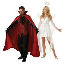 Halloween Costumes Angel 50 Crazy U0026 Creative Couples Halloween Costumes Yourtango