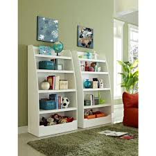 childrens white bookcase