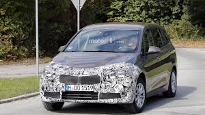 bmw minivan 2018 bmw 2 series gran tourer facelift spy photos motor1 com photos