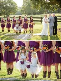 bridesmaid dresses with cowboy boots fall wedding bridesmaid dresses with cowboy boots adkins2487