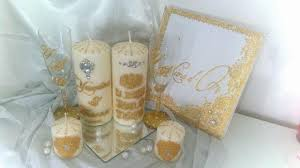 bougie personnalis e mariage bougie personnalisé décoration henna mariage