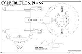 construction plans trek blueprints construction plans 33 inch u s s