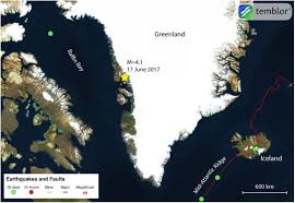 Greenland Map Greenland Earthquake Greenland Tsunami Map U2013 Temblor Net