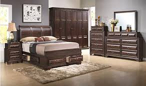 3pc queen size storage bed online only bel furniture houston
