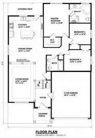 Cottage Floor Plans Ontario Narrow Raised Bungalow Canadian Home Designs Custom House Plans