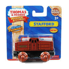 thomas the tank engine stafford wooden rail engine vehicle