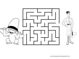 curious george mazes kids