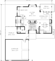 not so big contemporary style house plan 3 beds 2 50 baths 2440 sq ft plan 454 3