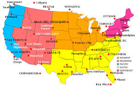 in us map major cities in the usa enchantedlearningcom
