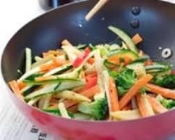 recette de cuisine en photo recette wok de légumes croquants