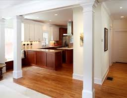 interior columns for homes brookridge residence custom homes cablik enterprises
