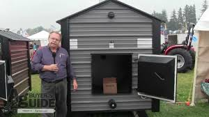 previewing the woodmaster outdoor wood furnaces youtube