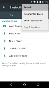 bluetooth settings android android basics how to connect to a bluetooth device android