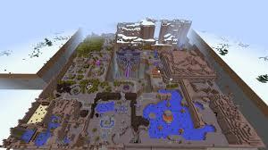 Worlds Map by Minecraft Legend Of Zelda A Link Between Worlds Adventure Map