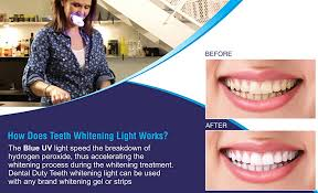 how to use teeth whitening gel with light amazon com dental duty teeth whitening accelerator light get