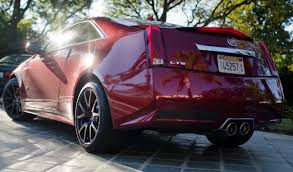 cadillac cts v gas mileage 2013 cadillac cts v coupe review