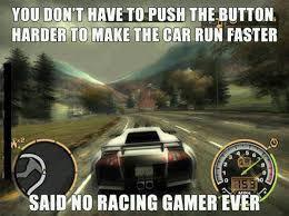 Race Car Meme - funny gaming race car meme bajiroo com