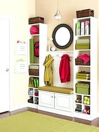 storage cubbies with hooks large image for wood wall storage wall