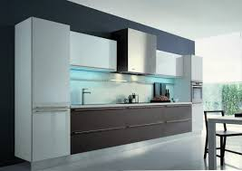 grey kitchen walls with oak cabinets stainless steel wall mount