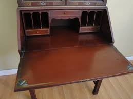 drop front secretary desk with drawers u2014 all home ideas and decor