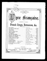 si e enfant pour v o notated languages library of congress