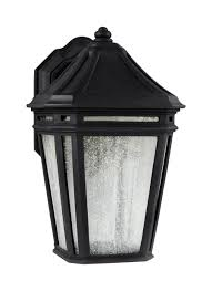 Exterior Wall Sconce Ol11302bk Led Led Outdoor Sconce Black
