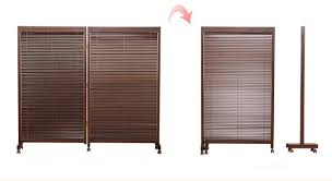 Japanese Screen Room Divider Japanese Folding Screen 2 Panel Wood Room Divider Home Decor