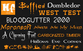 10 new fonts added to free halloween fonts collection on mac app