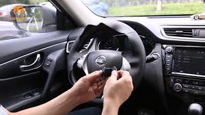nissan altima wheel covers how to install custom hand stitched leather steering wheel cover
