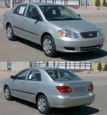 toyota corolla sedan 2003 fuel mileage for the 2003 toyota corolla