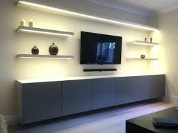 shelf with lights underneath wall shelves with lights corner shelves with under lighting floating