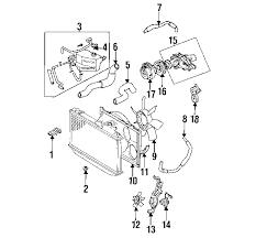 lexus gs300 parts diagram parts com lexus shroud fan no 1 partnumber 1671146070