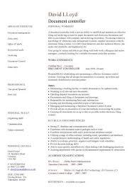 Accounting Controller Resume Document Controller Cv Sample Job Description File Validation