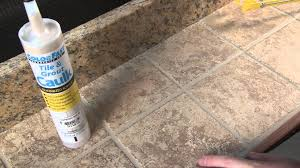 colorfast tile and grout caulking youtube