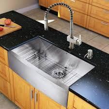kitchen sinks black stainless steel white porcelain undermount