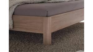 Schlafzimmer Komplett 160x200 Set Selene Sonoma Eiche Weiß Hochglanz 4 Tlg