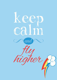 Cube Mural Fly by Keep Calm And Fly Higher By Verygood91 Rainbowdash I My
