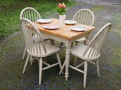northern passages shabby chic dining solid pine and annie sloan
