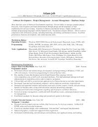 Resume Jobs Unix by Php Developer Resume Resume For Your Job Application