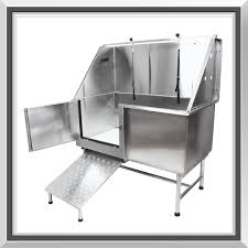 sale large professional stainless steel pet grooming bath