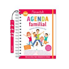 bureau en gros agenda mémoniak family diary 2017 2018 éditions 365