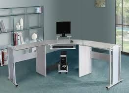 Corner Computer Desk White Corner Computer Desk Buy Quality White Glass Corner Computer Desk