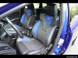 2014 ford focus st st2 6 speed recaro 51k blue 6 speed manual 4