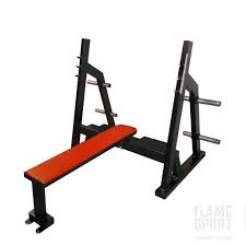 a1 olympic flat press bench 1a flame sport flame sport