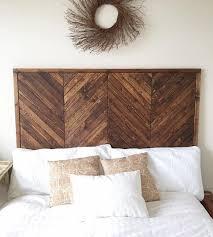 install a wood headboard bellissimainteriors